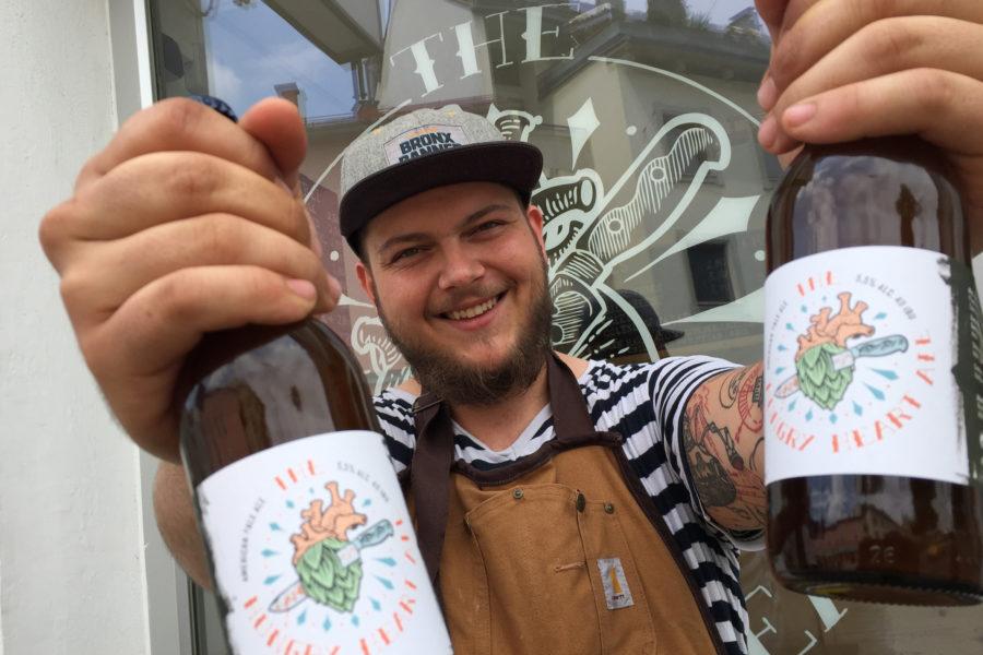 Grazer Streetfood-Koch braut sein eigenes Bier