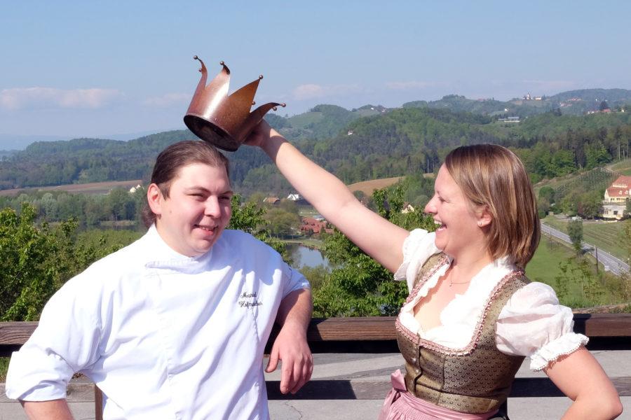 Gault&Millau Haube für Anna und Manuel Hofmarcher