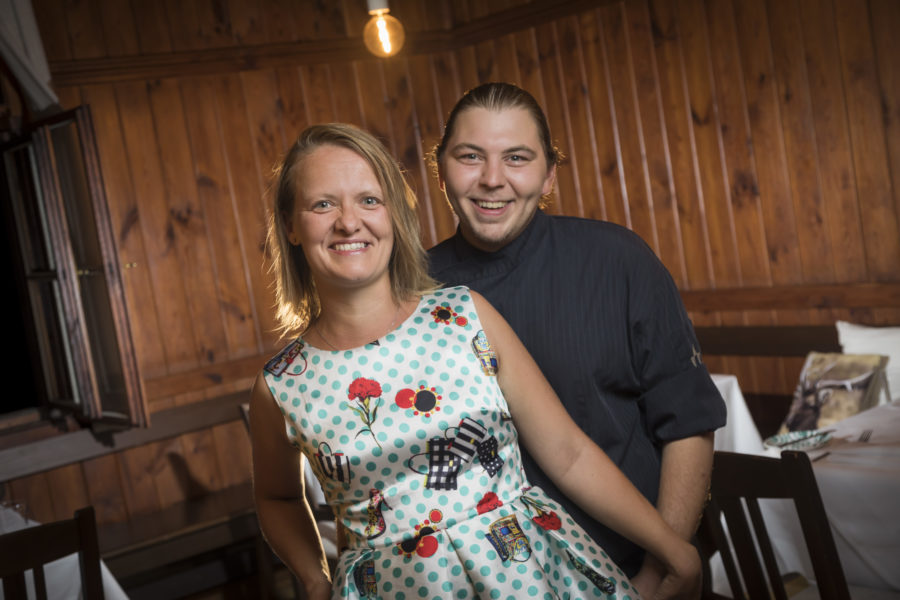 Weil sie Eltern werden: Anna und Manuel Hofmarcher schließen das ANNA im Seggauer Schlosskeller