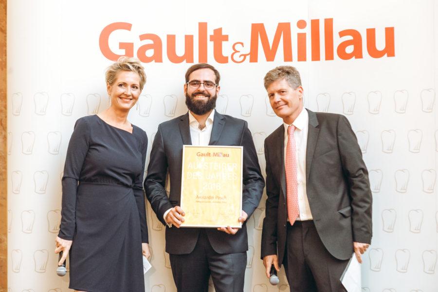 """Gault&Millau 2018: Alexander Posch """"Aufsteiger des Jahres"""""""