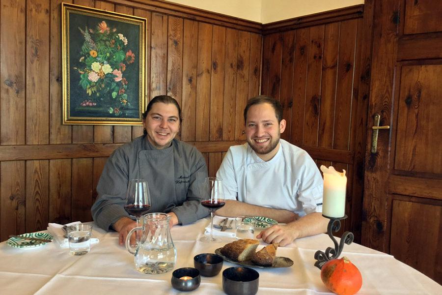 Aus der 4 Hauben-Küche in den Seggauer Schlosskeller