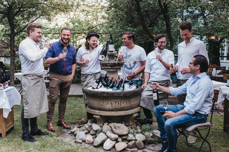 Österreichs größte Winzer-Grillerei mit mehr als 50 Weinbauern