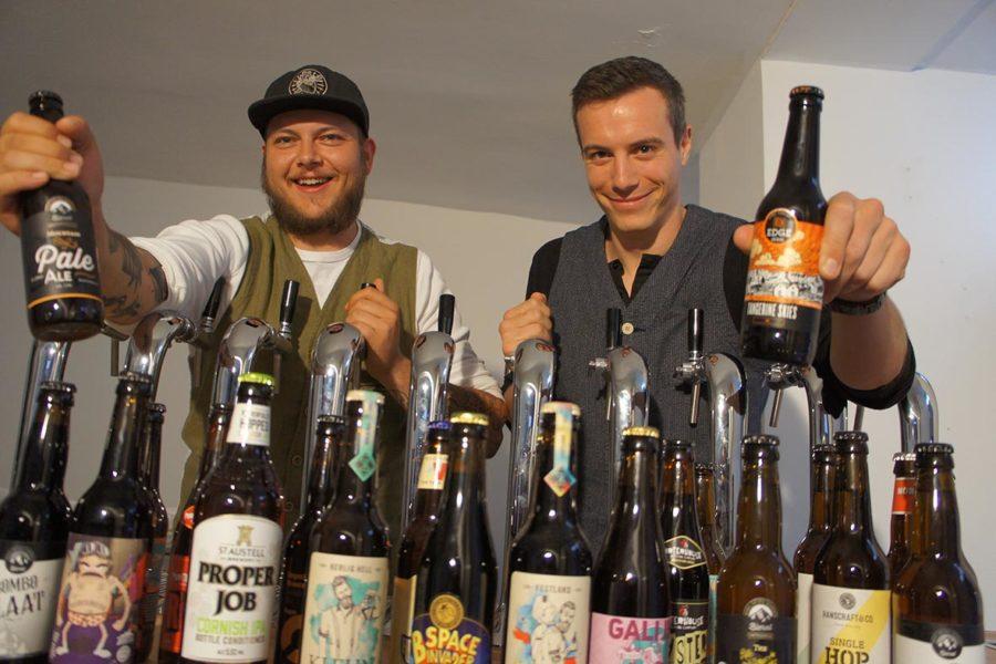 """Mehr als 100 Craft-Biere aus 15 Ländern: Streetfood-Koch eröffnet """"The Thirsty Heart"""" in der Grazer Innenstadt"""