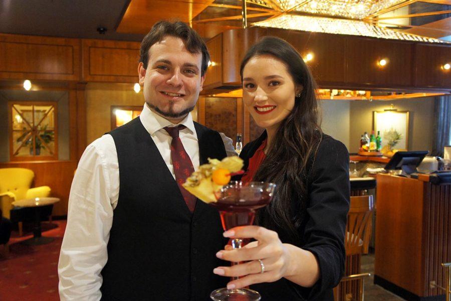 Miss Styria kreiert für das Parkhotel Graz einen eigenen Cocktail