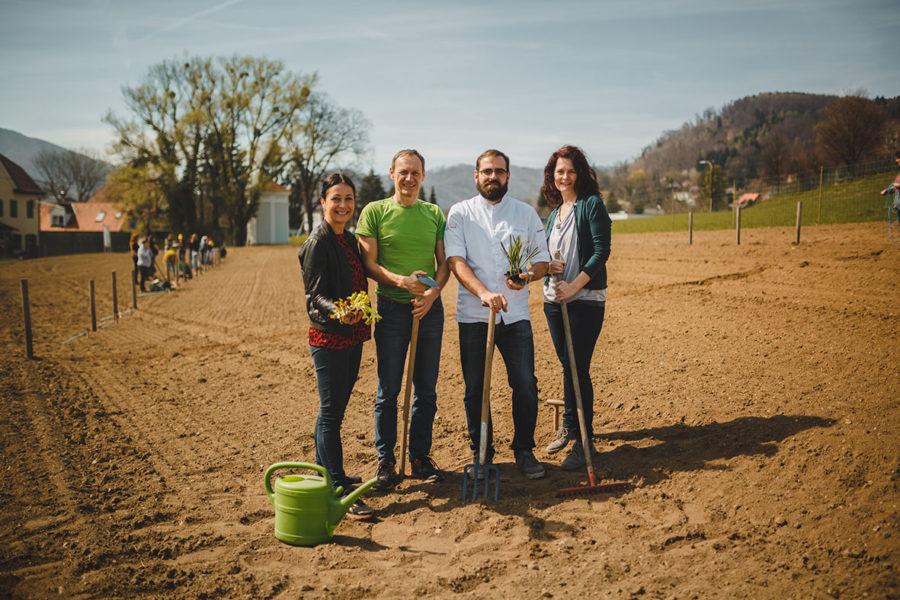 MORGENTAUGÄRTEN starten größtes karitatives Urban Farming Projekt in Graz