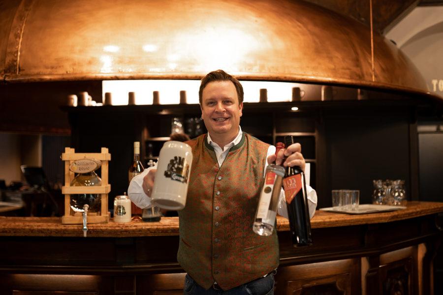 Gösser Bräu Neueröffnung mit erster Bier&Schnapsbar Österreichs