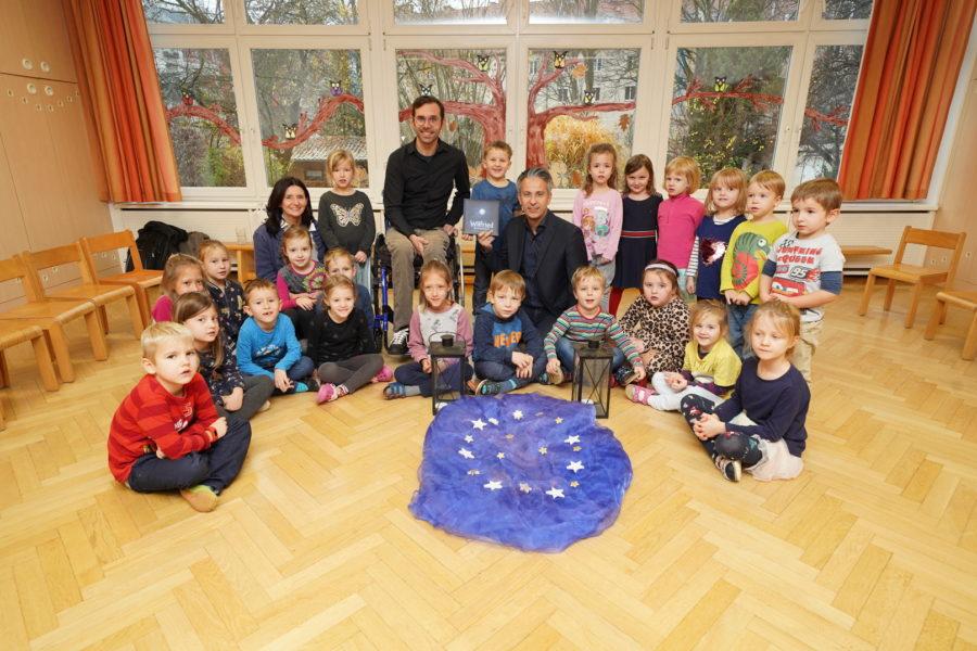 Ein einsamer Stern für 3000 Grazer Kindergartenkinder