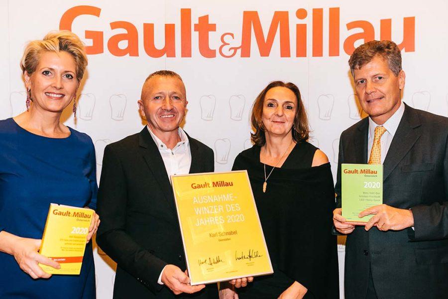 Gault&Millau kürt kompromisslosen traditionellen Natural Winzer zum Ausnahmewinzer des Jahres