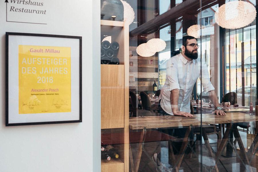 Gault&Millau: Alexander Posch wieder mit drei Hauben