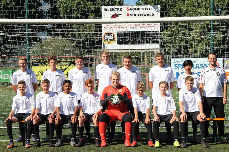 SV Spittal stellt die beste Nachwuchs-Elf Kärntens