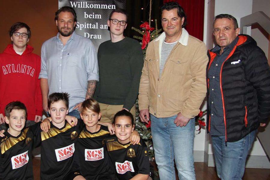 Jahresabschlussfeier: SV Spittal zieht positive Bilanz