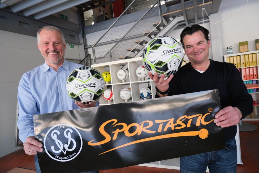 Sportartikel Versandhändler als neuer Namenssponsor: Spittaler heißen ab sofort SV SPORTASTIC Spittal