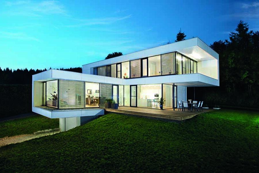 Deutscher Traumhauspreis 2021 für zwei GRIFFNER Holzhäuser